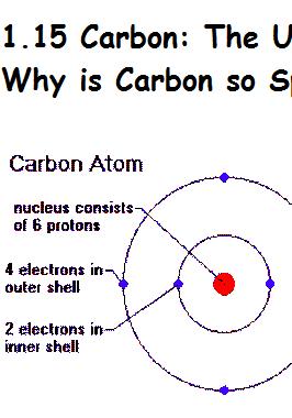 carbon atom   5
