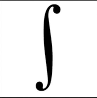 integration symbol math